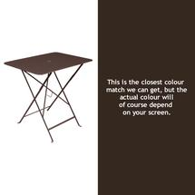 Bistro 77x57 Table - Russet