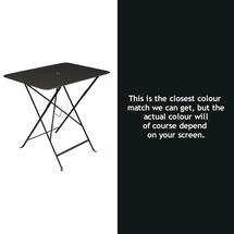 Bistro 77x57 Table - Liquorice