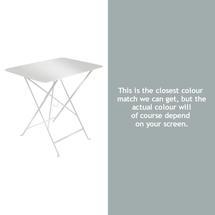 Bistro 77x57 Table - Steel Grey