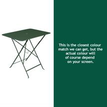 Bistro 77x57 Table - Cedar Green