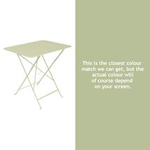 Bistro 77x57 Table - Willow Green