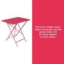 Bistro 77x57 Table - Pink Praline