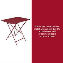 Bistro 77x57 Table - Chilli