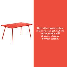 Luxembourg 143 x 80 Table - Capucine