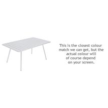 Luxembourg 165 x 100 Table - Cotton White