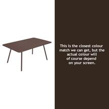 Luxembourg 165 x 100 Table - Russet