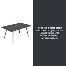 Luxembourg 165 x 100 Table - Anthracite
