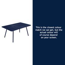 Luxembourg 165 x 100 Table - Deep Blue