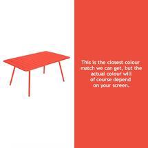 Luxembourg 165 x 100 Table - Capucine