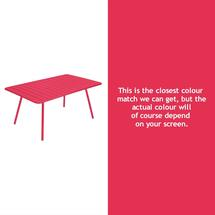 Luxembourg 165 x 100 Table - Pink Praline