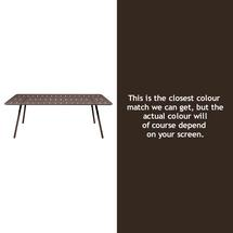 Luxembourg 207 x 100 Table - Russet