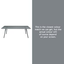 Luxembourg 207 x 100 Table - Storm Grey