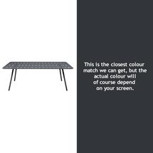 Luxembourg 207 x 100 Table - Anthracite