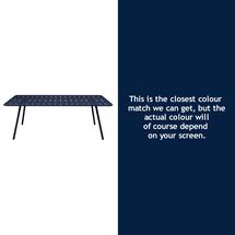 Luxembourg 207 x 100 Table - Deep Blue