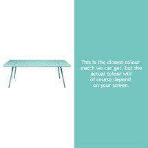 Luxembourg 207 x 100 Table - Lagoon Blue
