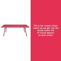Luxembourg 207 x 100 Table - Pink Praline