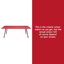 Luxembourg 207 x 100 Table - Poppy