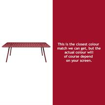 Luxembourg 207 x 100 Table - Chilli