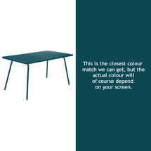 Luxembourg 143 x 80 Table - Acapulco Blue