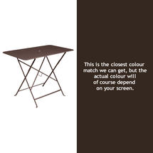 Bistro 97x57 Table - Russet