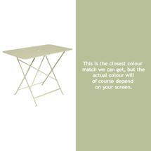 Bistro 97x57 Table - Willow Green