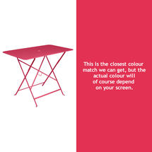 Bistro 97x57 Table - Pink Praline