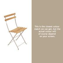Bistro Natural Chair - Nutmeg