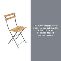 Bistro Natural Chair - Storm Grey