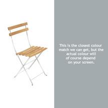 Bistro Natural Chair - Steel Grey