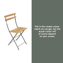Bistro Natural Chair - Rosemary