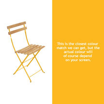 Bistro Natural Chair - Honey