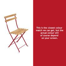Bistro Natural Chair - Poppy
