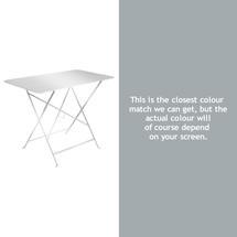 Bistro 97x57 Table - Steel Grey