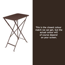 Bistro 37x57 Table - Russet