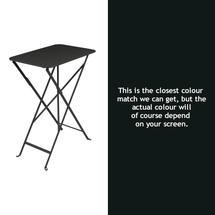 Bistro 37x57 Table - Liquorice