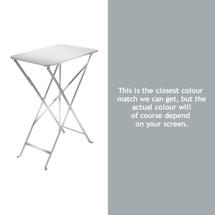 Bistro 37x57 Table - Steel Grey