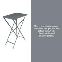 Bistro 37x57 Table - Storm Grey