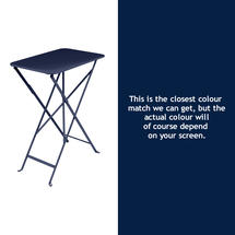 Bistro 37x57 Table - Deep Blue