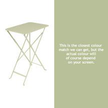 Bistro 37x57 Table - Willow Green