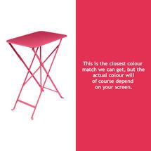 Bistro 37x57 Table - Pink Praline