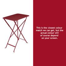 Bistro 37x57 Table - Chilli