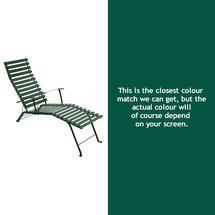 Bistro Lounger - Cedar Green