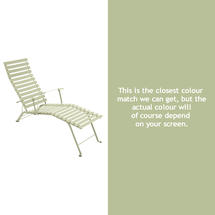 Bistro Lounger - Willow Green