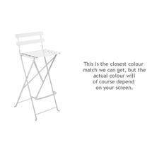 Bistro Tall Chair - Cotton White