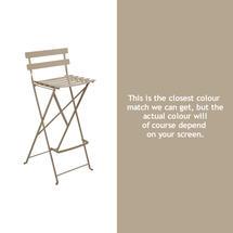Bistro Tall Chair - Nutmeg
