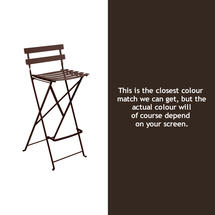 Bistro Tall Chair - Russet