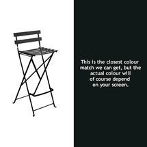 Bistro Tall Chair - Liquorice