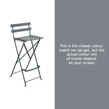 Bistro Tall Chair - Storm Grey