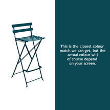 Bistro Tall Chair - Acapulco Blue