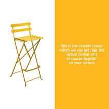 Bistro Tall Chair - Honey